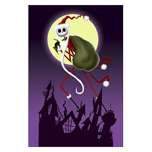 Nightmare Before Christmas. Размер: 40 х 60 см